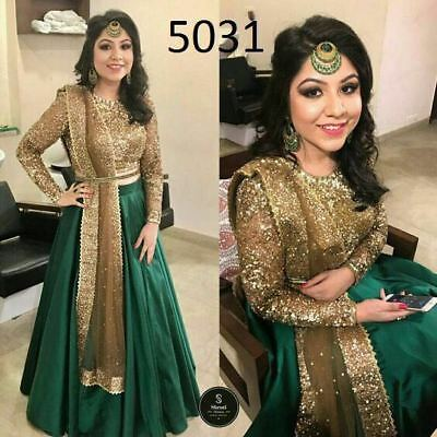 Wedding Wear Lehenga Designer Indian Latest  Bollywood Lehangha Choli SM 5031