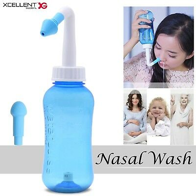Xcellent Global 300ml Nasal Wash Cleaner Nasal Irrigation Sinus Rinse Nose Ca...