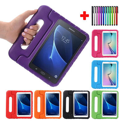 Children Kids Shock Proof Foam Handle Stand Case Cover for Samsung Galaxy Tablet