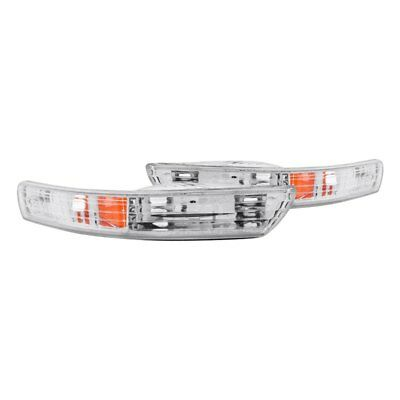 For Acura Integra 1998-2001 Anzo Chrome Crystal Turn Signal/Parking Lights