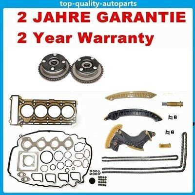 Timing Chain Camshaft Adjuster Full Head Gasket Set Kit MERCEDES 1.8L Kompressor