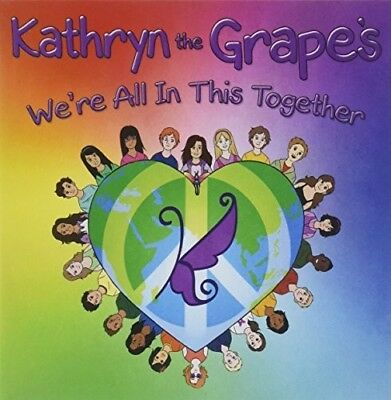 Kathryn the Grape - We're All In This Together [New CD] Professionally Duplicate