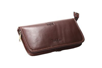 Wychwood River & Stream Leather Fly Wallets - Small & Large (H0828 & H0829)