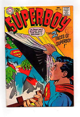 SUPERBOY  #152  (Neal Adams cover)   1968