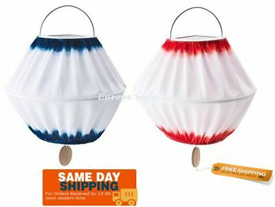 Led Solar IKEA Lantern Rechargeable Portable Outdoor/Indoor 32cm Pendant