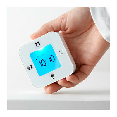 Alarm Clock 4 in 1 Thermometer Calendar Timer IKEA Bedside Kitchen Home Digital