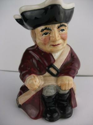 "SOLDIER CHARACTER TOBY JUG BY ROY KIRKHAM APROX 5""/12.5CM TALL, code  nos. 782"
