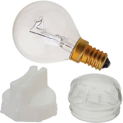Genuine Bosch Neff Siemens Oven Lamp Glass Light Bulb with Cover & Removal Tool