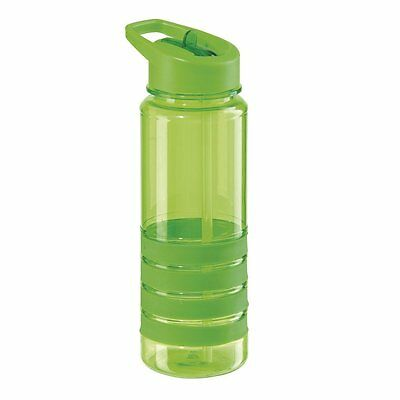 Oggi 8052.11 Tritan 25-Ounce Sport Bottle with Flip Up Spout and Straw, Green