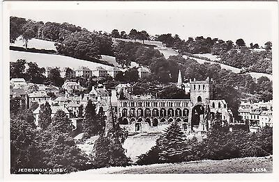 View Over Abbey & Town, JEDBURGH, Roxburghshire RP