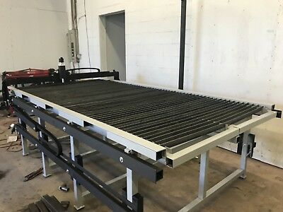 CNC Plasma Table 4x8 w/Everlast 60S Plasma Cutter & Wireless Touch Screen Tablet