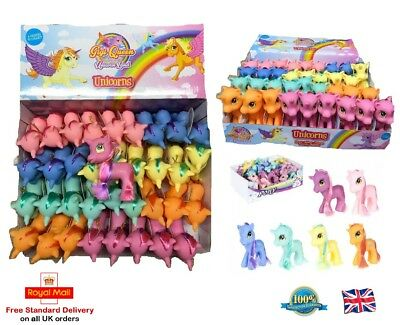 10cm GIGI Queen Unicorn Figures My Little Pony Toys Mini Unicorn Girls Toy Gift
