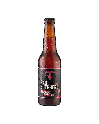 Bad Shepherd Brewing Co. Raspberry Wheat 330mL case of 24 Craft Beer
