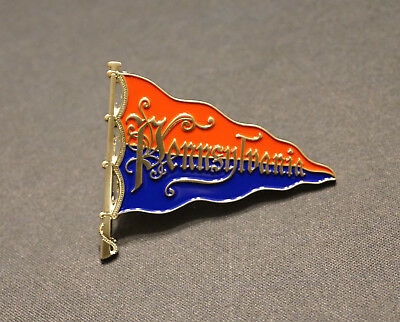 "Replica Vintage University of Pennsylvania Pennant Lapel Pin-2""x1.65"""