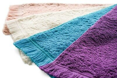 Genuine Egyptian Cotton 5 pieces set 50*30cm Soft Bathroom Towels  Made in Egypt