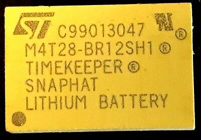 Brand New STMicroelectronics M4T28-BR12SH1 TIMEKEEPER SNAPHAT Battery