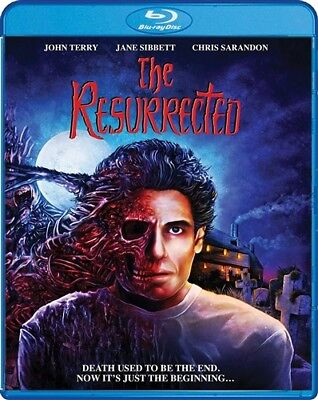 THE RESURRECTED New Sealed Blu-ray HP Lovecraft Charles Dexter Ward