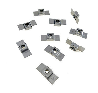 10 Pack 5/16-18 Floating Cage Nut - Weldable Stamping    NR 51618