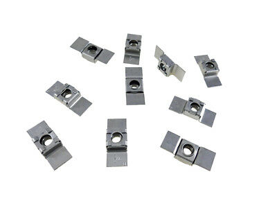 10 Pack 3/8-16 Floating Cage Nut - Weldable Stamping    NR 3816