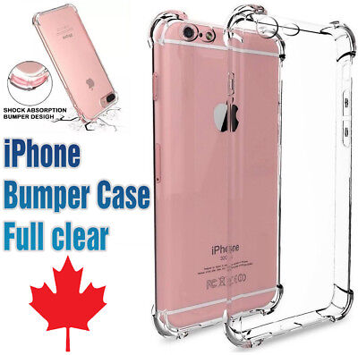Bumper case for iphone Clear Transparent TPU superior quality All IPHONE Models