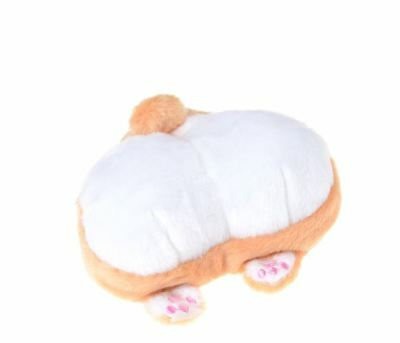 Corgi Dog Stuffed Buttocks Plush Coin Purse Wallet Soft Purse What a Hoot!