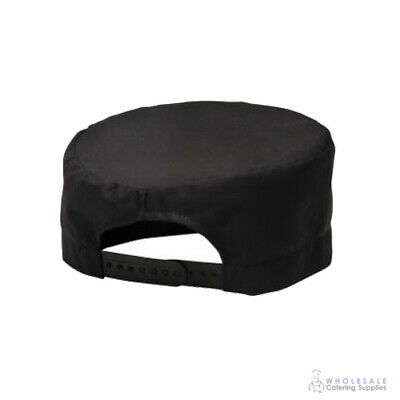 Chef Beanie Skull Cap Hat Black Kitchen Cook Uniform Hospitality Cafe Portwest