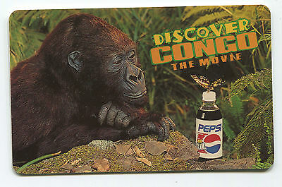 Discover Congo The Movie.  Pepsi Phone Card.  USED.