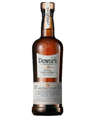 Dewar's The Vintage 18 Year Old Scotch Whisky 700mL bottle Blended Whisky