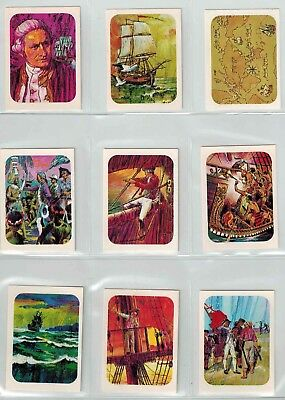 Sanitarium Weet-Bix - Cook's Voyage of Discovery (1970) - Collector Cards (20)