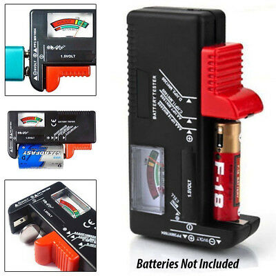 Universal Battery Tester Checker For AA/AAA C D 9V/1.5V Button Cell Batteries