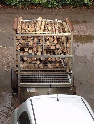 Firewood Pole Lengths for DIY/Home Chainsaw/ Hand saw.*Stillages not included*