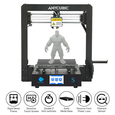 AU Stock ANYCUBIC 3D Printer Kit i3 Mega Upgrade DIY Printing Size 210x210x205mm