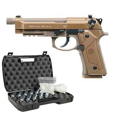 Beretta M9 A3 FDE Softair-Co2-Pistole Kaliber 6 mm BB Blowback > 0,5 Joule (P18)