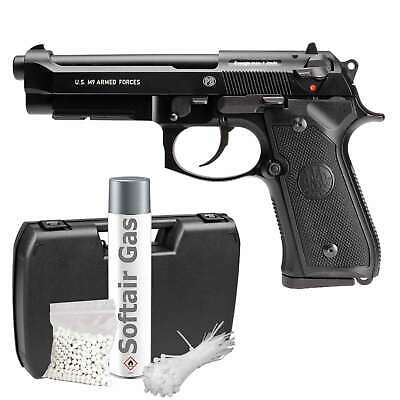 Beretta M9 Vollmetall Softair-Pistole Kaliber 6 mm BB Gas Blowback > 0,5 J (P18)