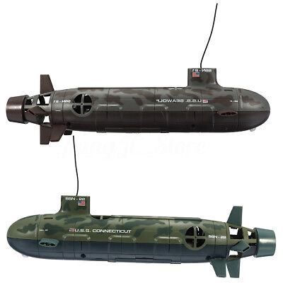 Seawolf Nuclear Submarine Radio Remote Control 6 Channel RC Diving Boat Toy Gift