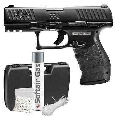 Walther PPQ M2 Softair-Pistole Kaliber 6 mm BB Gas Blowback > 0,5 Joule (P18)