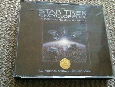 The Star Trek Encyclopedia Reference Guide 1997 vintage 4 CD set with free post