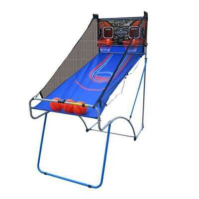 Lancaster Sports EZ-Fold 2-Player Indoor Arcade Basketball Game (Open Box)