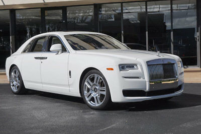 """2016 Rolls-Royce Ghost 4dr Sedan '16 Rolls Royce,563 HP,21"""" Polished Wheels,Pano Roof,Vented Seats,Camera System."""