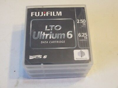 3- New Fujifilm Lto Ultrium 6 2.50Tb 6.25Tb Data Cartridge !!!!!