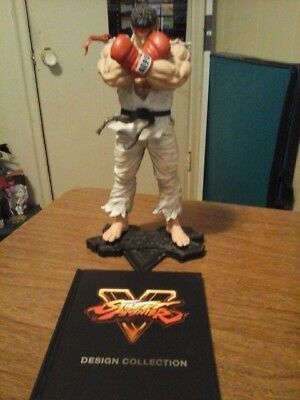 Street Fighter V collectors edition Ryu Statue plus Art book ONLY