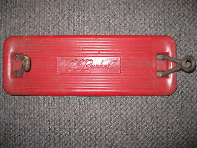 Vintage J.E. Burke Heavy Plastic and Metal Old School Swing Seat Good Condition