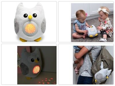 Star Projector Baby Sleep Aid Night Light LED Shusher Sound Machine Portable