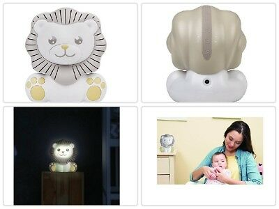 Gift 3 Sounds Machine 3 Lullabies with Nightlight Sleep Timer Nursery Lion New