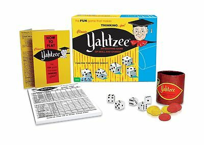 Classic Yahtzee An Exciting Game Of Skill And Chance Multicolor None