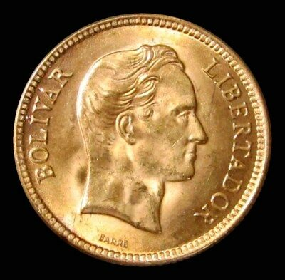 1930 Gold Venezuela 10 Bolivares Simon Bolivar Coin Choice Uncirculated