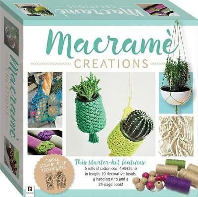 NEW Macrame Creations Activity Kit Free Shipping
