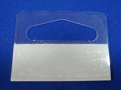 "Slotted Hang Tab with Adhesive Slot Style (1-3/16"") Merchandise Price Tags"