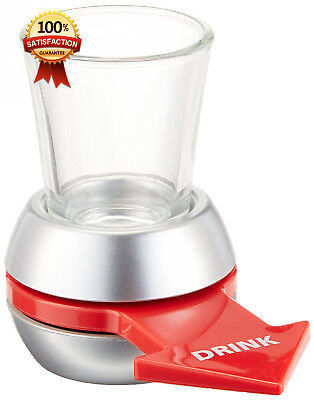 Barbuzzo Original Spin the Shot - Fun Party Drinking Game - Pour a Shot,...