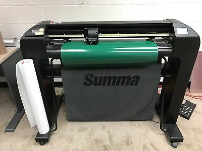 "Summa Vinyl Cutter Summasign Plotter S75 D Series 30"" Touchscreen!"